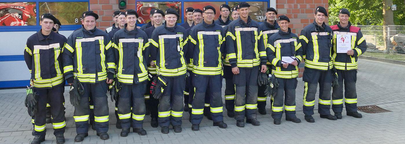 Herzlichen willkommen bei der Feuerwehr Hamberge